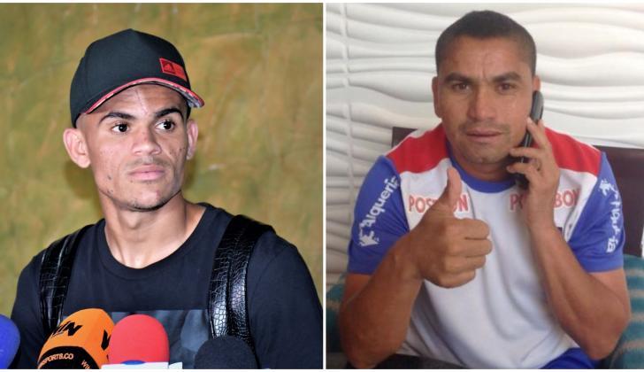 Luis Díaz (21 años) y Víctor Danilo Pacheco.