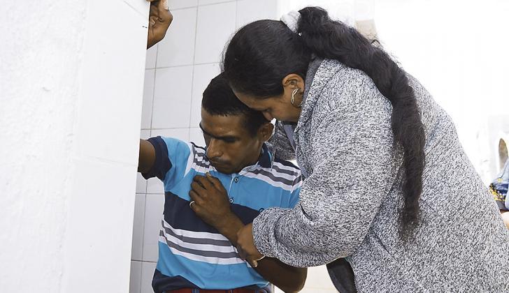 Luz Mery Suárez tenía ocho años que no sabía absolutamente nada de su hijo Deimer.