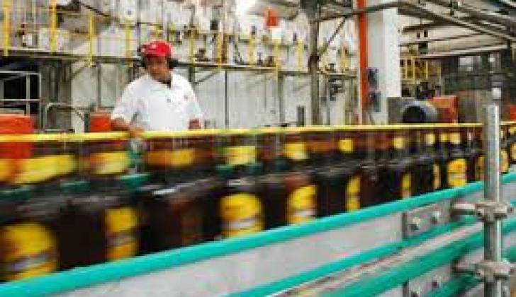 Planta cervecera en Barranquilla.