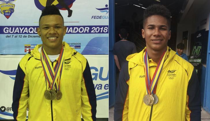 Misael Ramírez logró tres bronces y Kevin Sandoval ganó cuatro oros y dos platas.