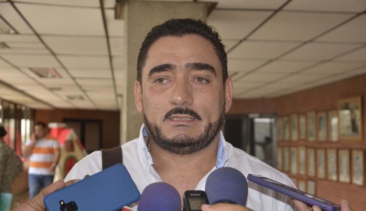 José Benito Gómez, alcalde de Majagual.
