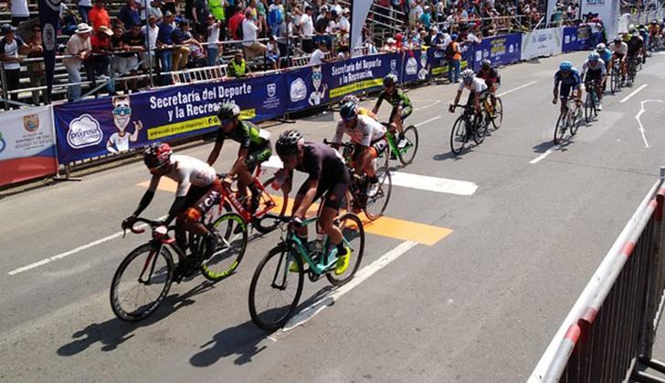 La competencia más esperada fue la de ciclismo.