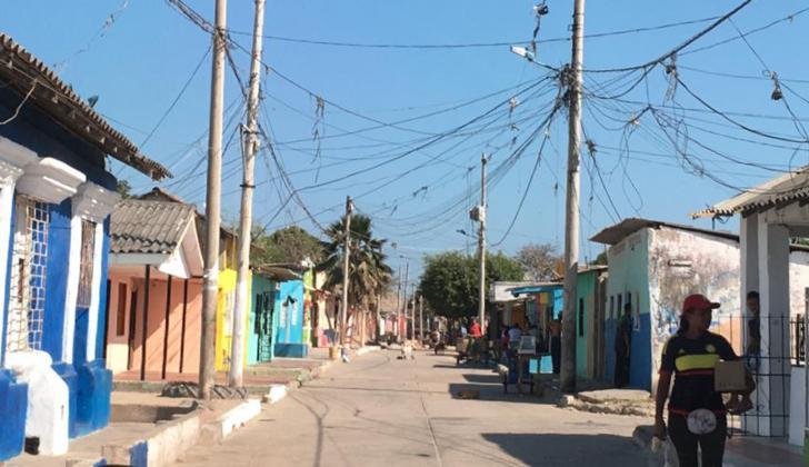 Sector del barrio San Roque donde se registraron los hechos.