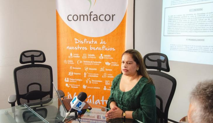 Lidia Caicedo Herazo, directora suplente de Comfacor.