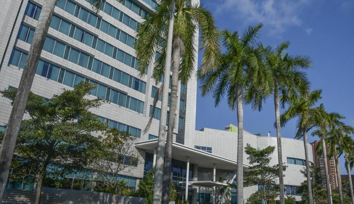 El Hilton Garden Inn es uno de los hoteles del norte que ha contribuido a la oferta de habitaciones.