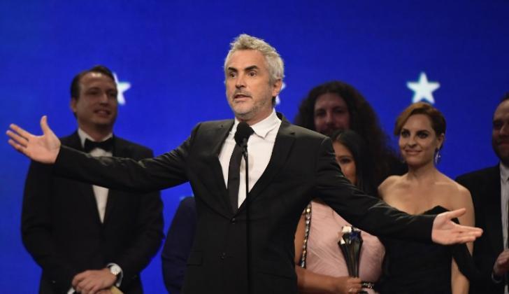 """El mexicano Alfonso Cuarón, director de """"Roma""""."""