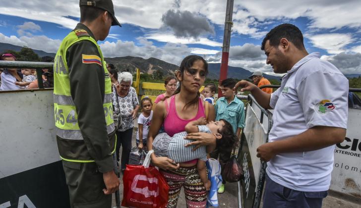 Más de 1 millón 100 mil ciudadanos venezolanos viven Colombia, según cifras de Migración.