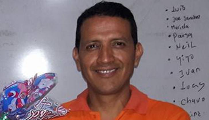 José Orlando Reina, líder social del Cesar.