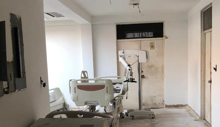 Hospital San Jerónimo de Montería.