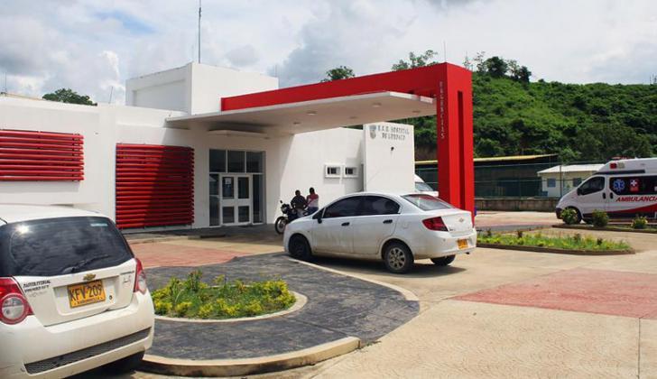 El joven fue trasladado hasta el hospital Local de Luruaco donde ingresó sin signos vitales.