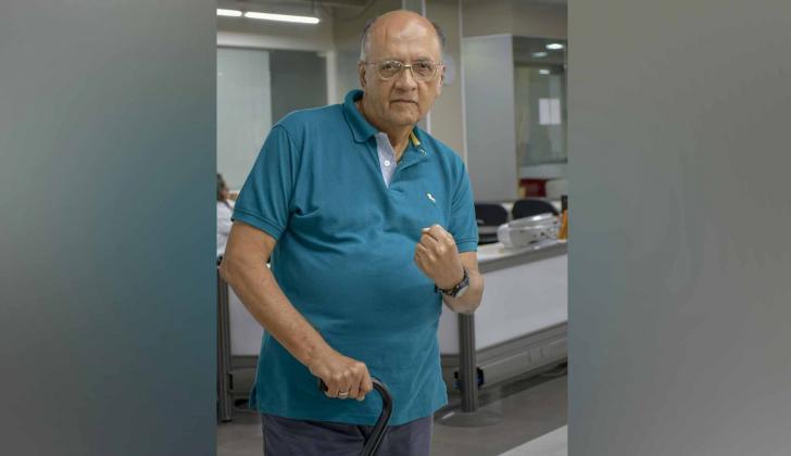 Jorge Humberto Klee, docente, dirigente deportivo y miembro honorario de la Asociación Mundial de Boxeo.