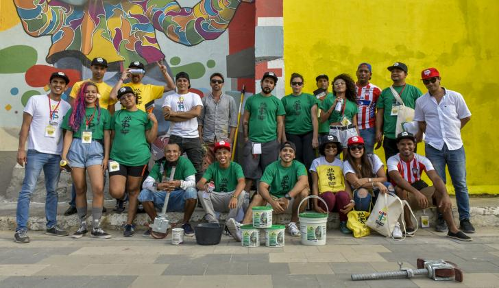 Nueve artistas de carácter local e internacional se encargarán de llevar color a diez puntos de la ciudad.