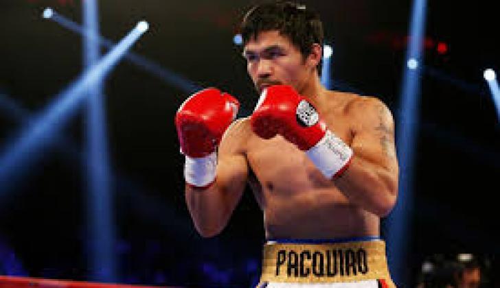 Manny Pacquiao en el ring.