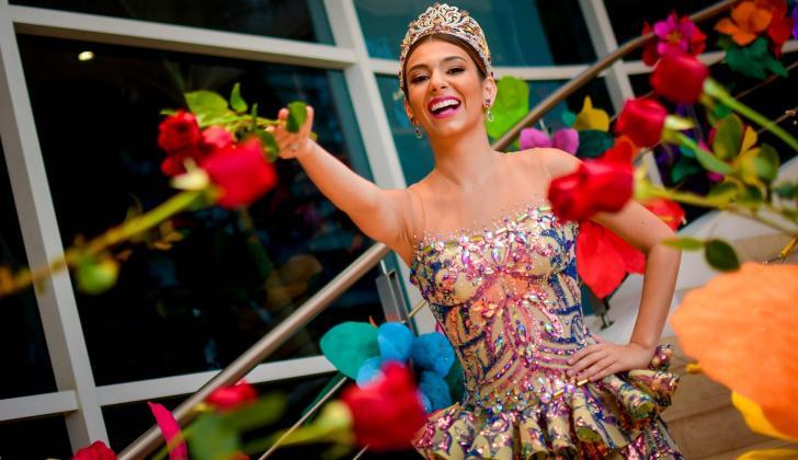 Carolina Segebre reina del Carnaval 2019.