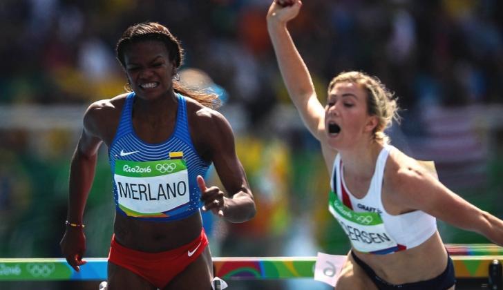 Briggite Merlano en los Juegos Olímpicos de Río de Janeiro en 2016.