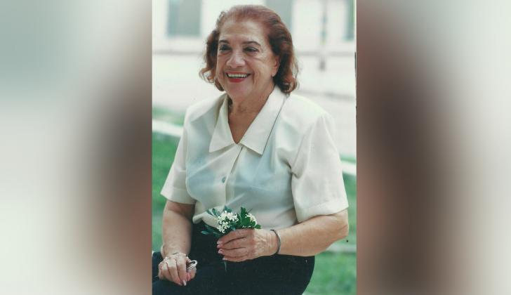 Olga Isabel Chams Eljach (1922–2009), mejor conocida como Meira Delmar.