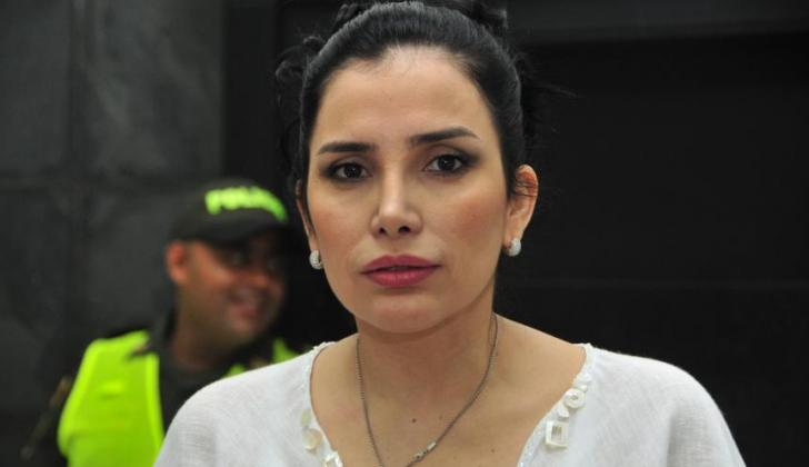 Aida Merlano, exparlamentaria.