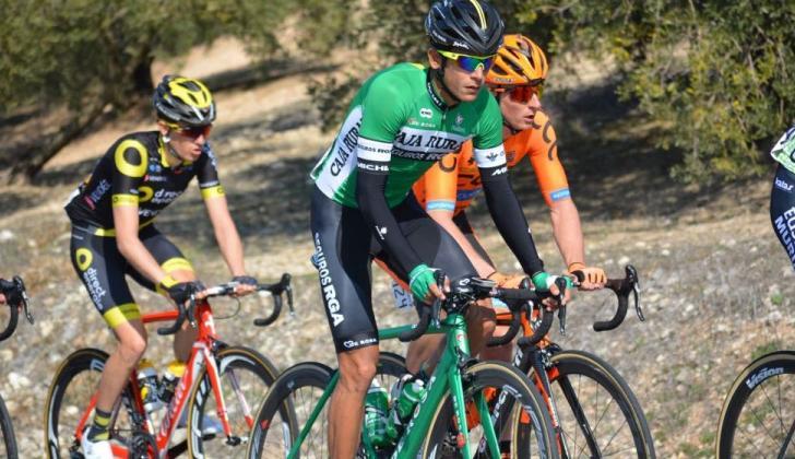 El ciclista barranquillero Nelson Soto, de 24 años, es uno de los mejores esprínter del Caja Rural.