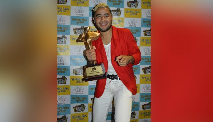 Gustavo Picalúa, nuevo rey del Festival Francisco El Hombre.