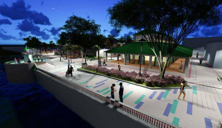 Diseño del nuevo mercado que ya tiene la Alcaldía.