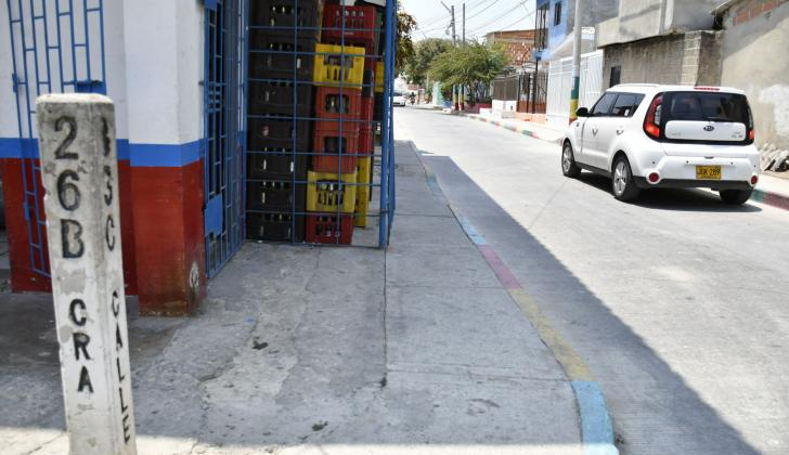 En este sector del barrio Por Fin los vecinos se quejan por fallas en el servicio de agua.