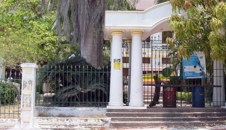 Facultad de Bellas Artes en el barrio El Prado.