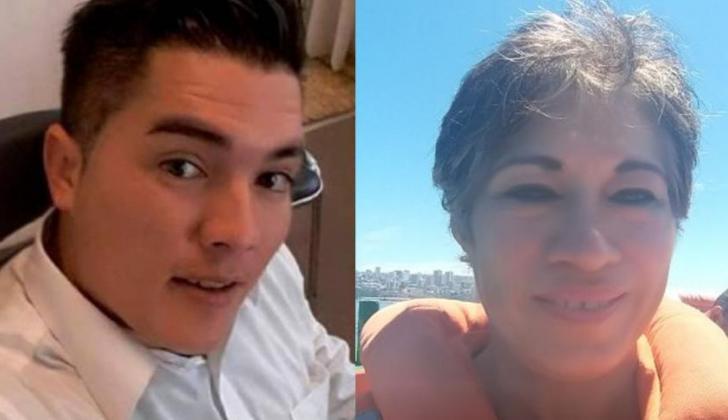 Juan Valderrama y Ilse Amory Ojeda González.