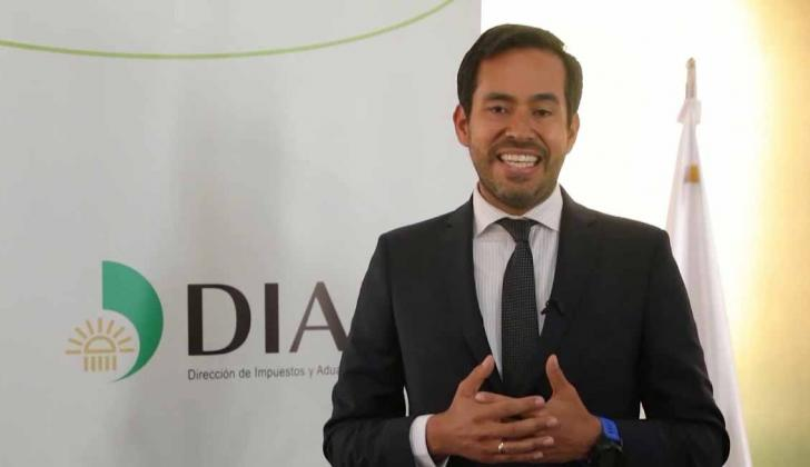 El director de Ingresos de la Dian, Lisandro Junco.