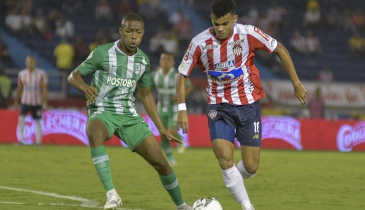 Luis Díaz volverá a comandar el ataque rojiblanco junto a Teo Gutiérrez.