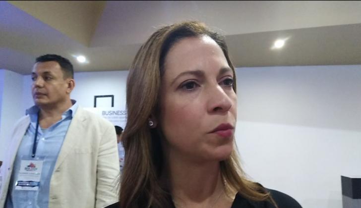 María Claudia Lacouture, presidente de AmCham Colombia.