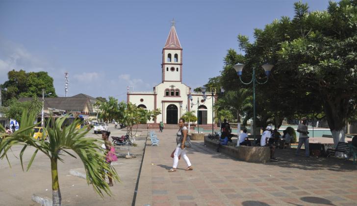 San Onofre, uno de los municipios más afectados por la violencia en el departamento de Sucre.