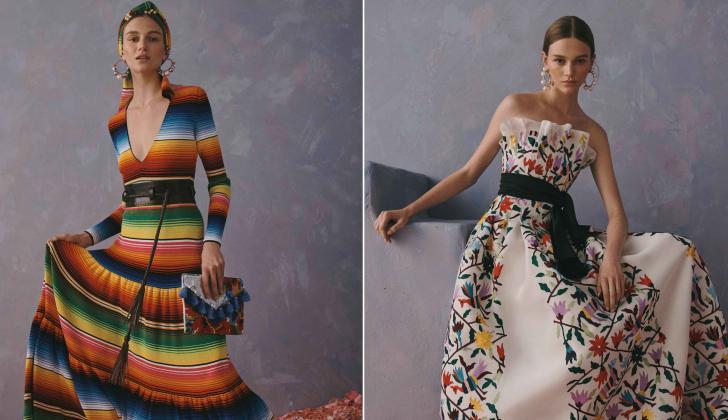 e2f099ff1e Algunos vestidos de la última colección de Carolina Herrera, Resort 2020.