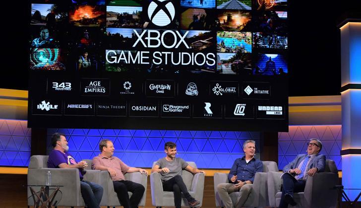 Panel de presentación de Xbox en la congregación anual de videojuegos E3.