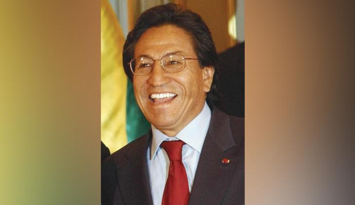 Alejandro Toledo, expresidente de Perú.