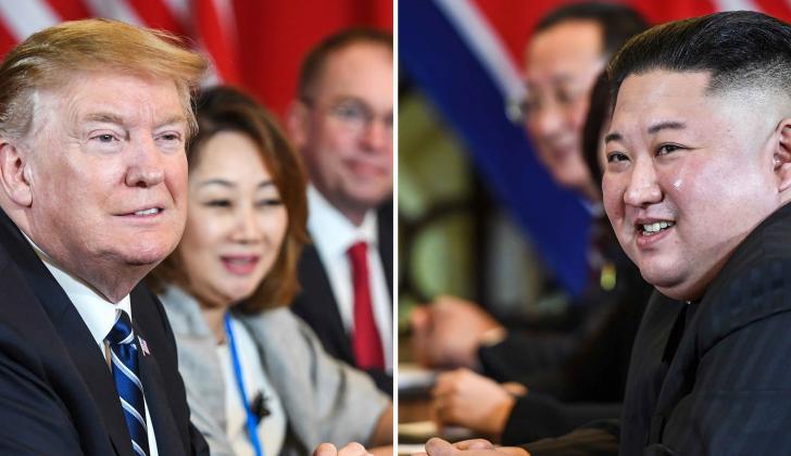 Donald Trump y KimJong Un.