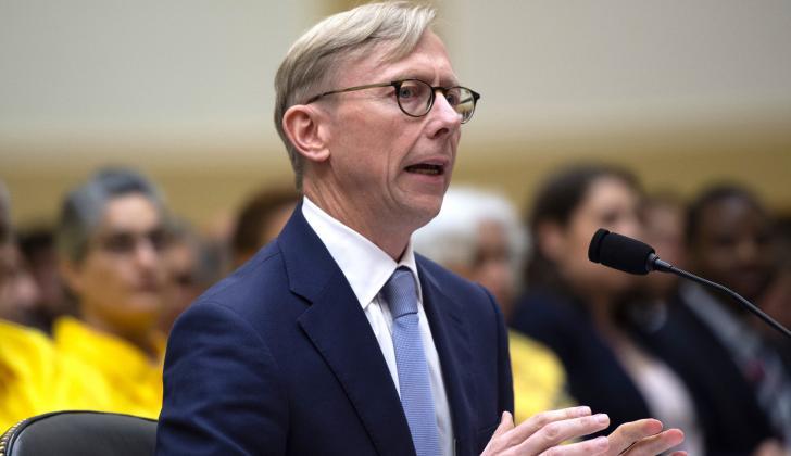 Brian Hook, Representante de los Estados Unidos en Irán.
