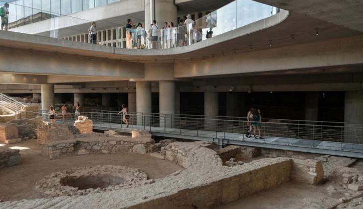 Ampliación del Museo de la Acrópolis de Grecia.