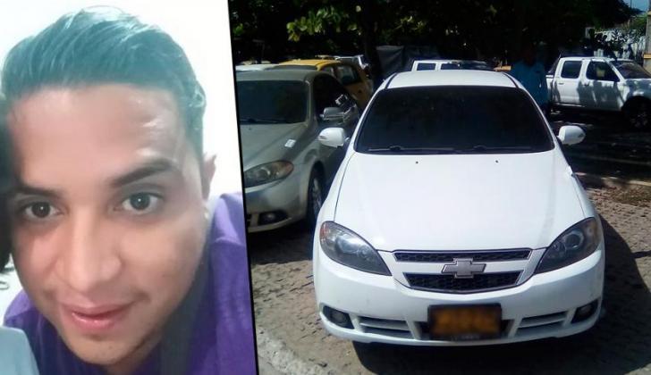Anthony Rivero Cantillo, desaparecido desde el 17 de junio.