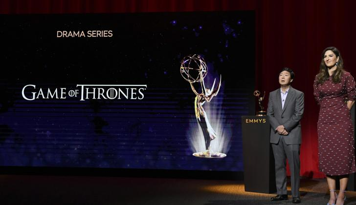 Los Actores Ken Jeong y D'Arcy Carden fueron los encargados de presentar los nominados a la 71ª entrega de los premios Emmy
