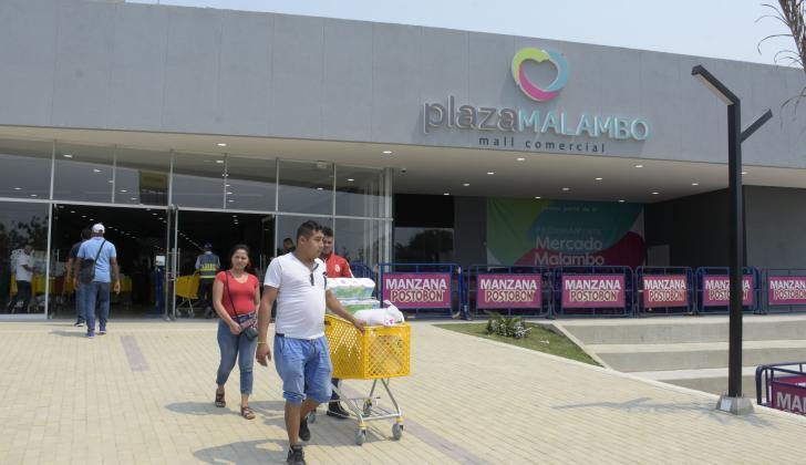 El primer centro comercial en Malambo, una de las inversiones del semestre.