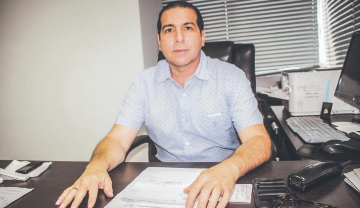 Alfonso de la Espriella, director de la Rama Judicial en Córdoba.