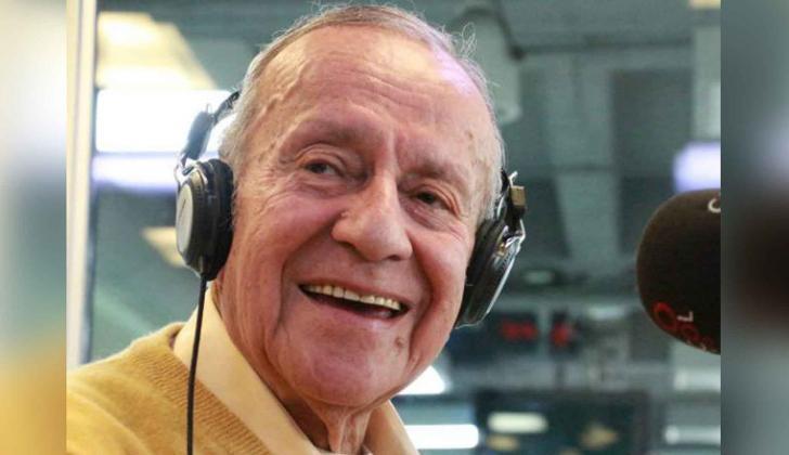 El locutor Gabriel Muñoz tenía 92 años de edad.