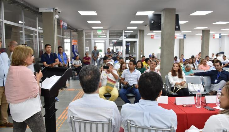 Así fue la inauguración de la oficina de la JEP en Corozal.