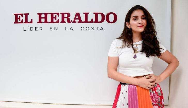 Coco Jadad durante su visita a EL HERALDO.