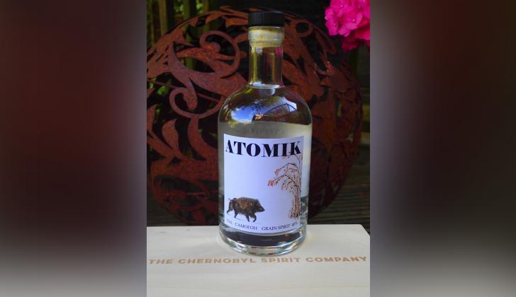 Vodka no radioactivo producido con granos cerca de la zona donde ocurrió el accidente nuclear.
