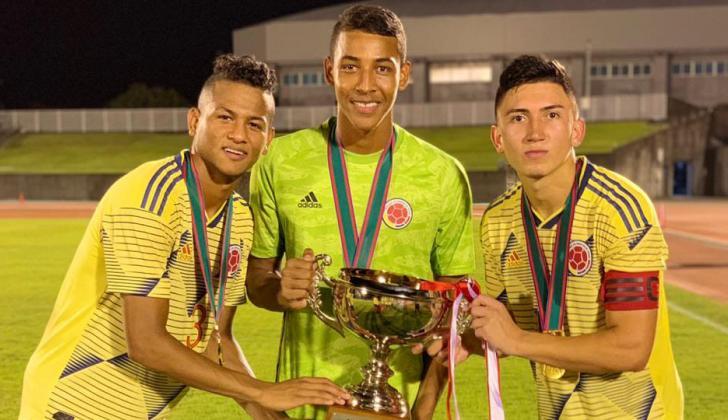 Fabián Ángel, César Haydar y Jaime Acosta, hicieron parte del título