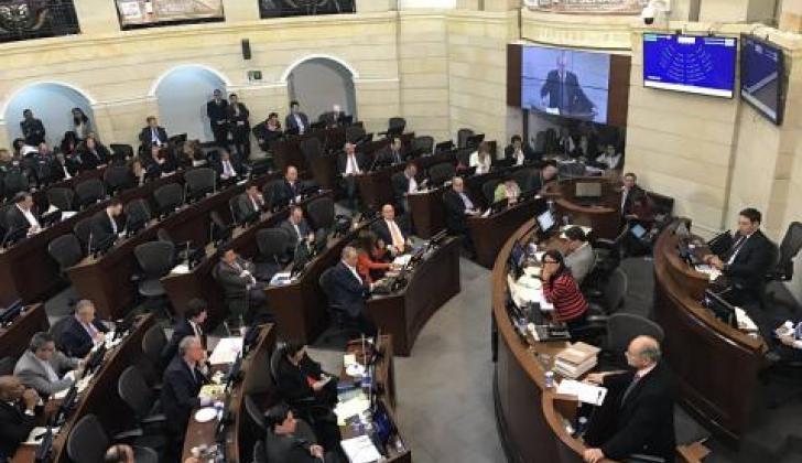 El recinto del Senado de la República.
