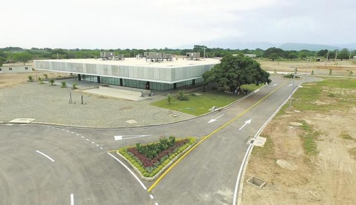 Centro educativo sede de la Universidad Nacional en la Paz, Cesar.