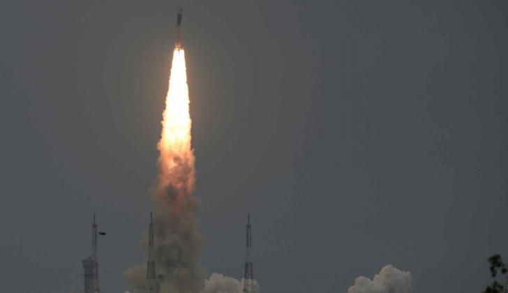 Chandrayaan-2 despega el 22 de julio de 2019.