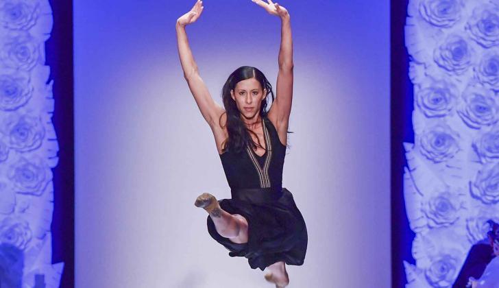 La bailarina mexicana Elisa Carrillo.